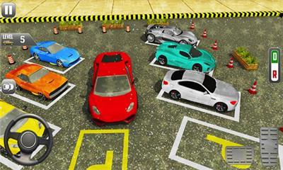 体育汽车停车处