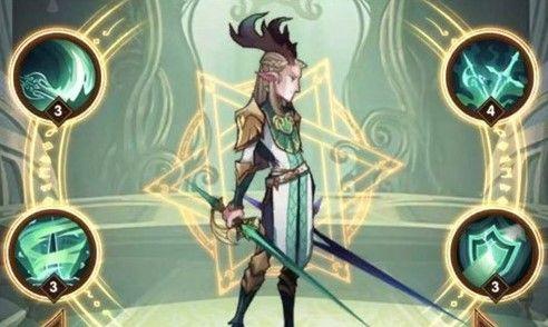 剑与远征绿剑埃隆怎么样 绿剑埃隆技能属性详解[多图]图片2
